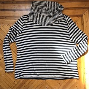 Betty Barclay Striped Turtleneck Top
